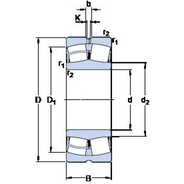 Spherical Roller Bearings 22326 CCJA/W33VA405 SKF #1 image