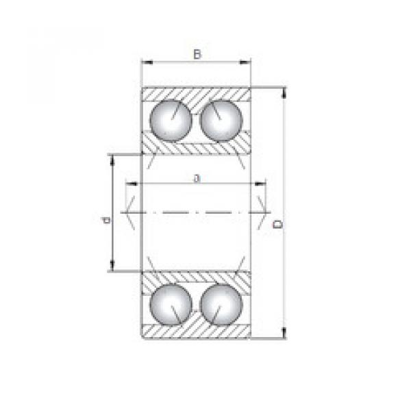 angular contact thrust bearings 3305 CX #5 image