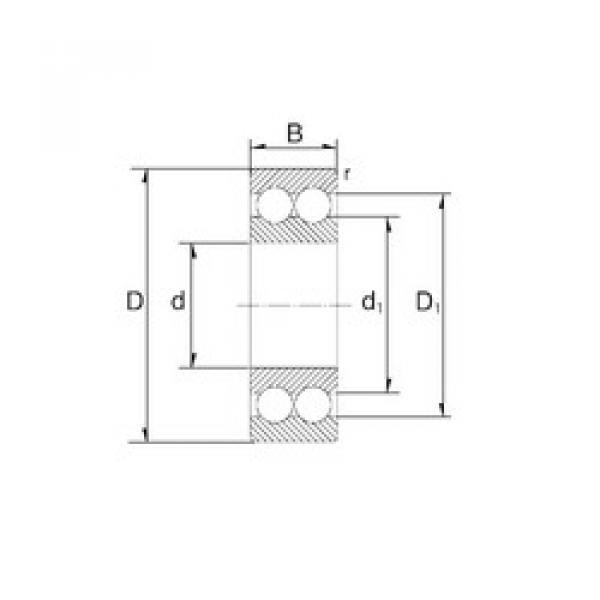 angular contact thrust bearings 3209 ZEN #5 image
