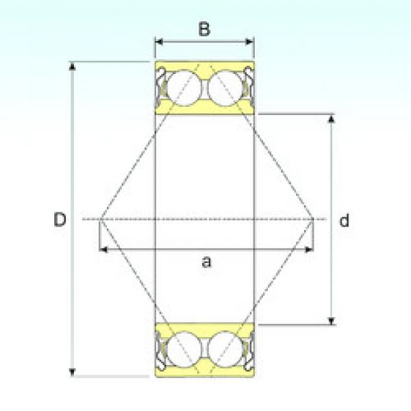 angular contact thrust bearings 3210-ZZ ISB #5 image