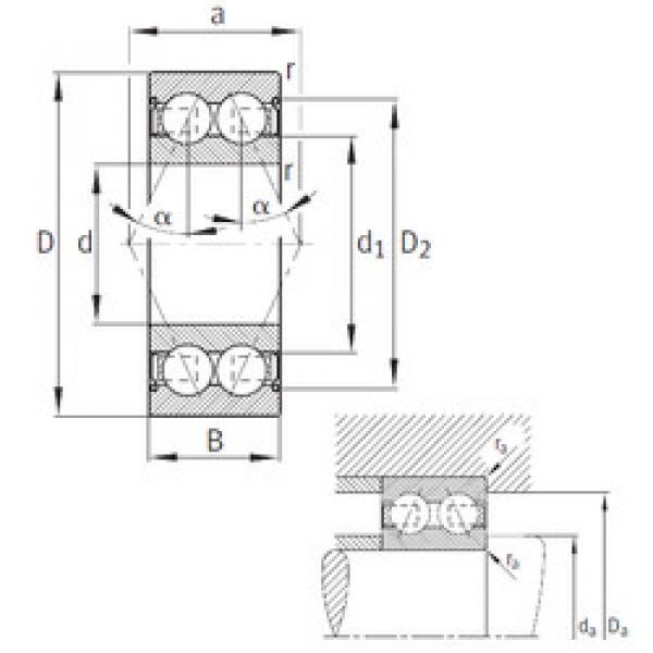 angular contact thrust bearings 3203-B-2Z-TVH FAG #5 image