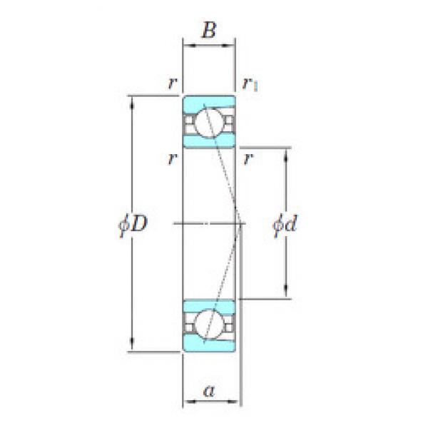 angular contact thrust bearings 3NCHAC020CA KOYO #5 image
