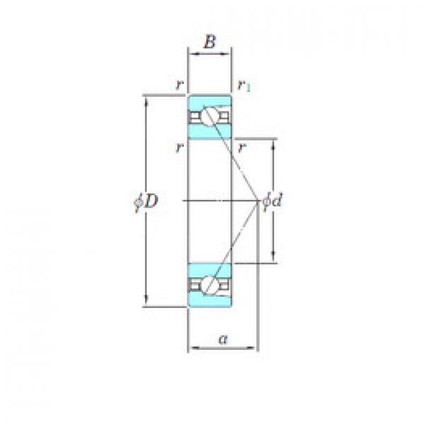 angular contact thrust bearings 3NCHAR917 KOYO #5 image