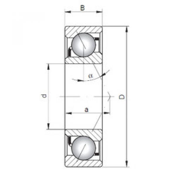 angular contact thrust bearings 7068 A ISO #5 image