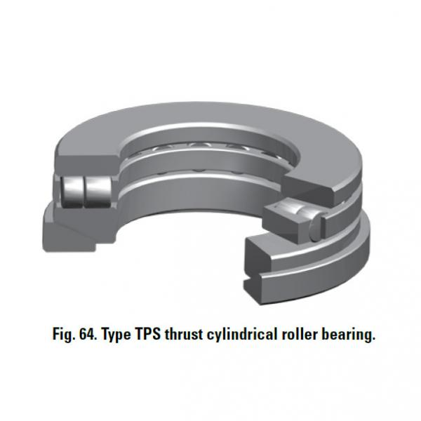 TPS thrust cylindrical roller bearing 30TPS106 #1 image
