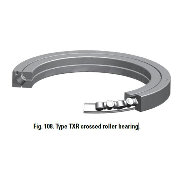 CROSSED ROLLER BEARINGS TXR XR820060 #1 image
