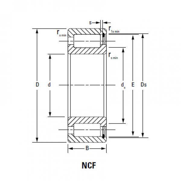 CYLINDRICAL ROLLER BEARINGS TWO Row NNU4964MAW33 NNU4068MAW33 #1 image