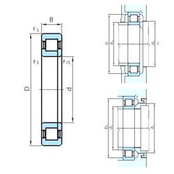 Cylindrical Roller Bearings Distributior NUP29/1060 PSL