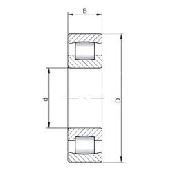 Spherical Roller Bearings 20240 ISO