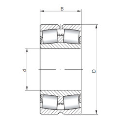 Spherical Roller Bearings 23052 CW33 CX