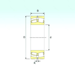 Spherical Roller Bearings 230/1000 ISB