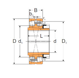 Spherical Roller Bearings 23052 ACKMBW33+H3052X MPZ