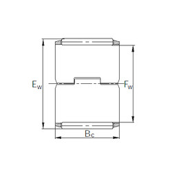 needle roller thrust bearing catalog K283213PCSP KBC