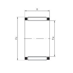 needle roller thrust bearing catalog K28x33x13 CX