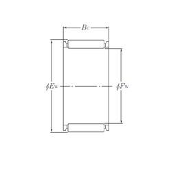 needle roller thrust bearing catalog K26×30×13 NTN