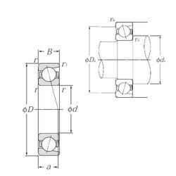Angular Contact Ball Bearings 7920 NTN
