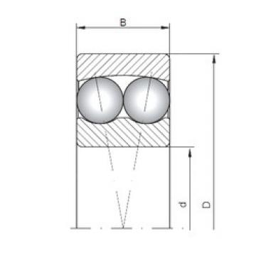 Self-Aligning Ball Bearings 2305 CX