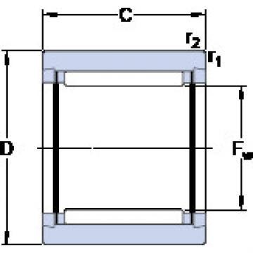 Cylindrical Bearing NK 10/16 TN SKF