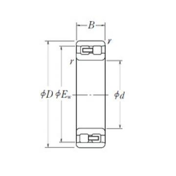 Cylindrical Bearing NN 3008 NSK