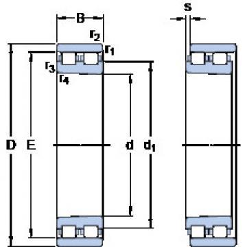 Cylindrical Bearing NN 3016 KTN/SP SKF
