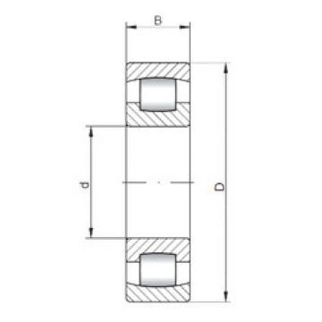 Spherical Roller Bearings 20318 ISO