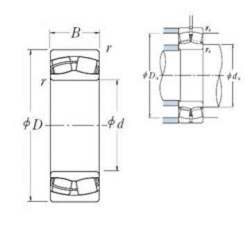 Spherical Roller Bearings 23030CDE4 NSK