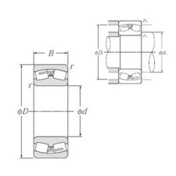 Spherical Roller Bearings 23022B NTN