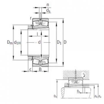 Spherical Roller Bearings 23048-K-MB FAG
