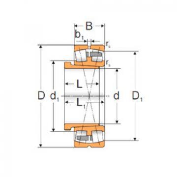 Spherical Roller Bearings 22340 ACKMW33+AH2340 MPZ