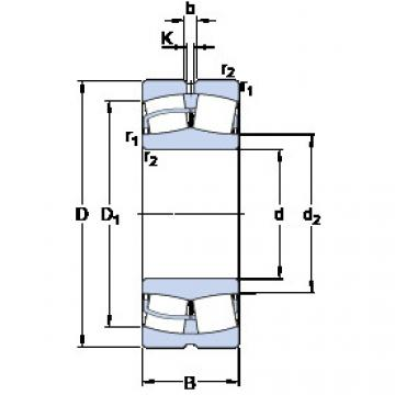 Spherical Roller Bearings 22324 CCJA/W33VA406 SKF