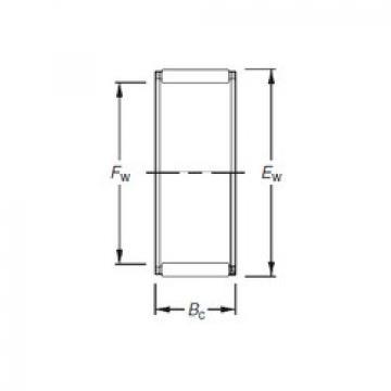 needle roller thrust bearing catalog K28X32X21F Timken