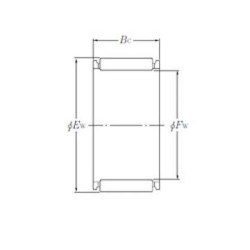 needle roller thrust bearing catalog K26×30×17 NTN