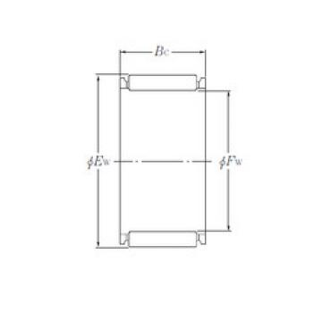 needle roller thrust bearing catalog K26×34×22 NTN