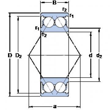 angular contact thrust bearings 3206 A SKF