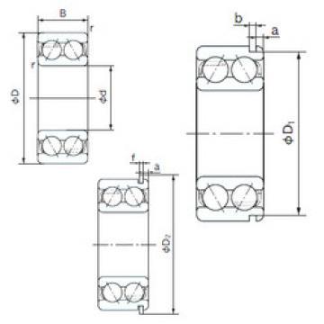 angular contact thrust bearings 5219NR NACHI