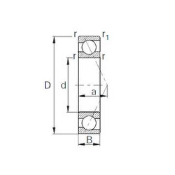 Angular Contact Ball Bearings 7920 CYSD