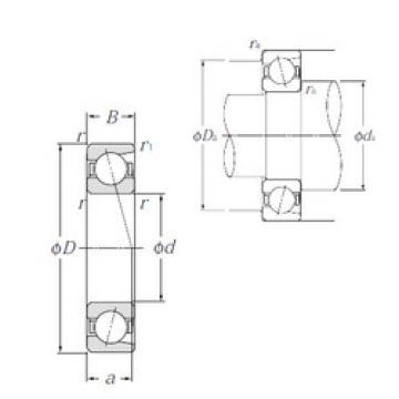 angular contact thrust bearings 7040 NTN