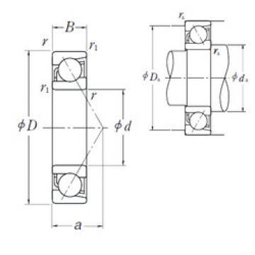 Angular Contact Ball Bearings 7920 A5 NSK