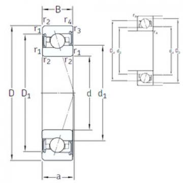 angular contact ball bearing installation VEX 85 /S 7CE1 SNFA