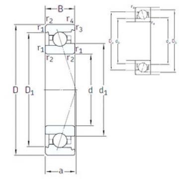 angular contact ball bearing installation VEX 8 /NS 7CE1 SNFA