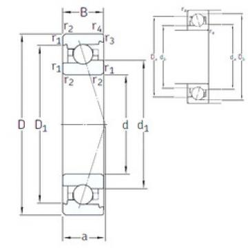 angular contact ball bearing installation VEX 8 /NS 7CE3 SNFA