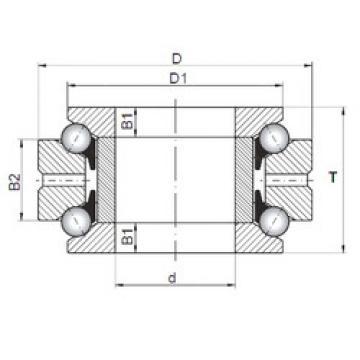 thrust ball bearing applications 234708 MSP CX