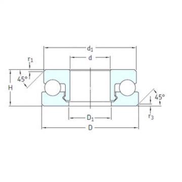thrust ball bearing applications 51201V/HR11T1 SKF
