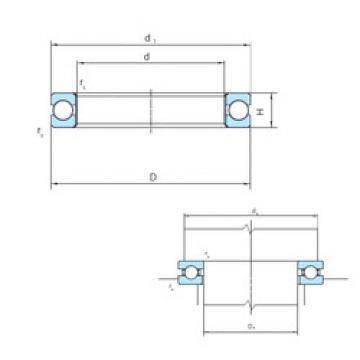 thrust ball bearing applications PSL212-318 PSL