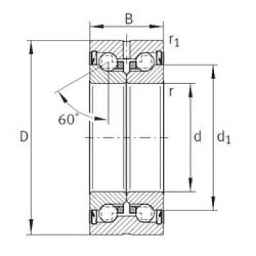 thrust ball bearing applications ZKLN2052-2Z INA