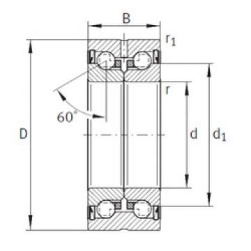 thrust ball bearing applications ZKLN90150-2Z INA