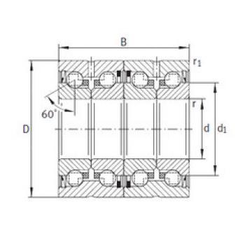 thrust ball bearing applications ZKLN3572-2RS-2AP INA