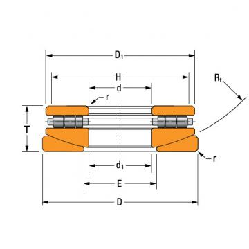 TPS thrust cylindrical roller bearing 50TPS121