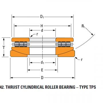 TPS thrust cylindrical roller bearing 40TPS115