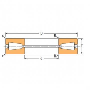 TTVS TTSP TTC TTCS TTCL  thrust BEARINGS B-8824-C 199.374